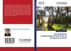 Portada del libro de Şev Stabilitesi Problemlerinin SEY ile İki ve Üç Boyutlu Analizi