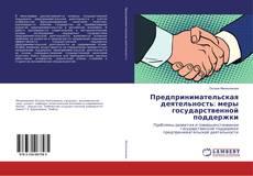 Bookcover of Предпринимательская деятельность: меры государственной поддержки