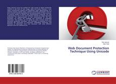 Capa do livro de Web Document Protection Technique Using Unicode