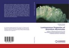 Capa do livro de Luminescence Properties of Strontium Aluminates