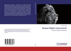 Capa do livro de Human Rights Instruments