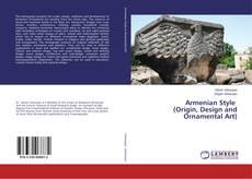 Capa do livro de Armenian Style (Origin, Design and Ornamental Art)