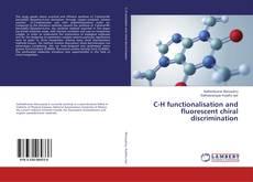 Portada del libro de C-H functionalisation and fluorescent chiral discrimination