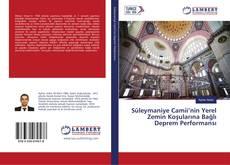Bookcover of Süleymaniye Camii'nin Yerel Zemin Koşularına Bağlı Deprem Performansı
