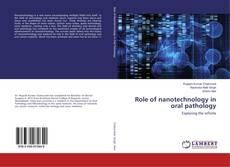 Capa do livro de Role of nanotechnology in oral pathology