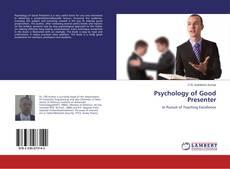 Couverture de Psychology of Good Presenter
