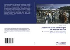 Bookcover of Communication campaigns on mental health