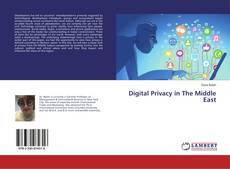 Buchcover von Digital Privacy in The Middle East