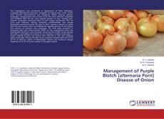 Capa do livro de Management of Purple Blotch [alternaria Porri] Disease of Onion