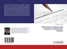 Capa do livro de Document tracking and inspector assignment system