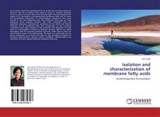 Couverture de Isolation and characterization of membrane fatty acids