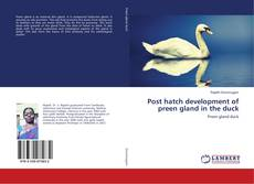 Bookcover of Post hatch development of preen gland in the duck