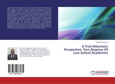 Bookcover of A Trial Attorney's Perspective: Two Dogmas Of Law School Academics