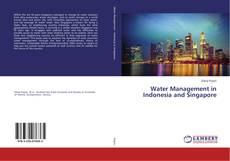 Buchcover von Water Management in Indonesia and Singapore