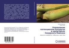 Bookcover of Управление потенциалом кукурузы в предгорьях Северного Кавказа