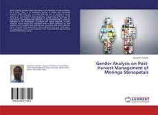 Portada del libro de Gender Analysis on Post-Harvest Management of Moringa Stenopetals