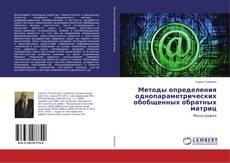 Bookcover of Методы определения однопараметрических обобщенных обратных матриц