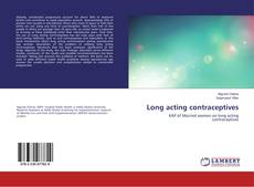 Bookcover of Long acting contraceptives