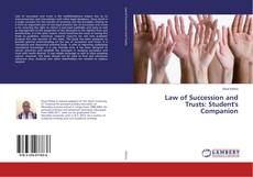 Portada del libro de Law of Succession and Trusts: Student's Companion