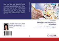 Capa do livro de Entrepreneurial strategic practices