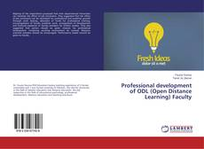 Bookcover of Professional development of ODL (Open Distance Learning) Faculty