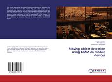 Couverture de Moving object detection using GMM on mobile devices