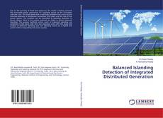 Couverture de Balanced Islanding Detection of Integrated Distributed Generation