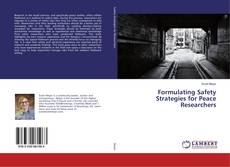 Capa do livro de Formulating Safety Strategies for Peace Researchers
