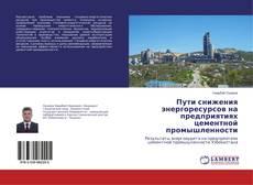 Borítókép a  Пути снижения энергоресурсов на предприятиях цементной промышленности - hoz