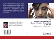 Обложка Working Quality VS Job Stress at Private Universities in Medan