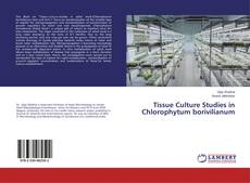 Tissue Culture Studies in Chlorophytum borivilianum kitap kapağı