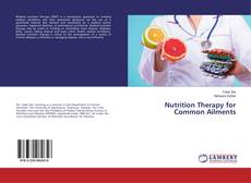 Copertina di Nutrition Therapy for Common Ailments