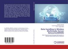 Capa do livro de Data handling in Wireless Multimedia Sensor Networks(WMSN)
