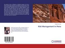 Buchcover von Risk Management In Petra