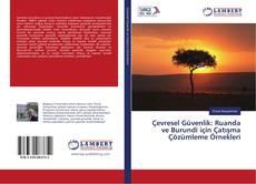 Buchcover von Çevresel Güvenlik: Ruanda ve Burundi için Çatışma Çözümleme Örnekleri