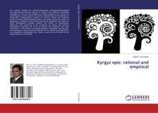 Portada del libro de Kyrgyz epic: rational and empirical