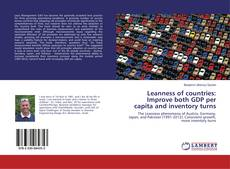 Copertina di Leanness of countries: Improve both GDP per capita and inventory turns