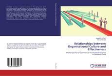 Bookcover of Relationships between Organisational Culture and Effectiveness