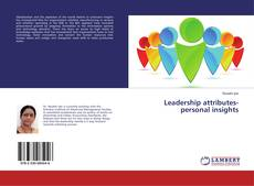 Portada del libro de Leadership attributes-personal insights