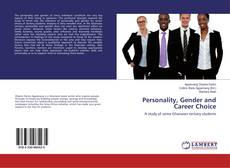 Bookcover of Personality, Gender and Career Choice