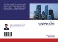 Portada del libro de Optimization of Base Isolation Parameters