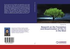 Обложка Research on the Translation and Dissemination of Chu Ci in the West
