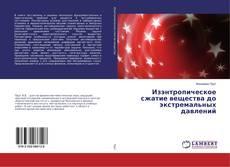 Copertina di Изэнтропическое сжатие вещества до экстремальных давлений