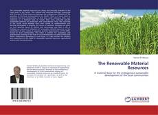 Buchcover von The Renewable Material Resources