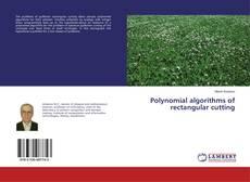 Buchcover von Polynomial algorithms of rectangular cutting