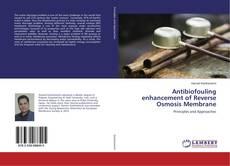 Portada del libro de Antibiofouling enhancement of Reverse Osmosis Membrane