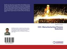 CES: Manufacturing Process Selection kitap kapağı