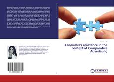 Portada del libro de Consumer's reactance in the context of Comparative Advertising