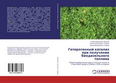 Capa do livro de Гетерогенный катализ при получении биодизельного топлива
