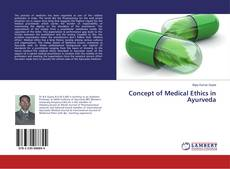 Portada del libro de Concept of Medical Ethics in Ayurveda